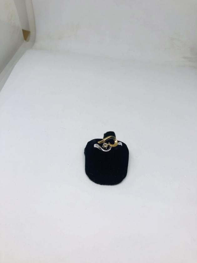 12分香檳彩鑽戒&項鍊(已售出) 1