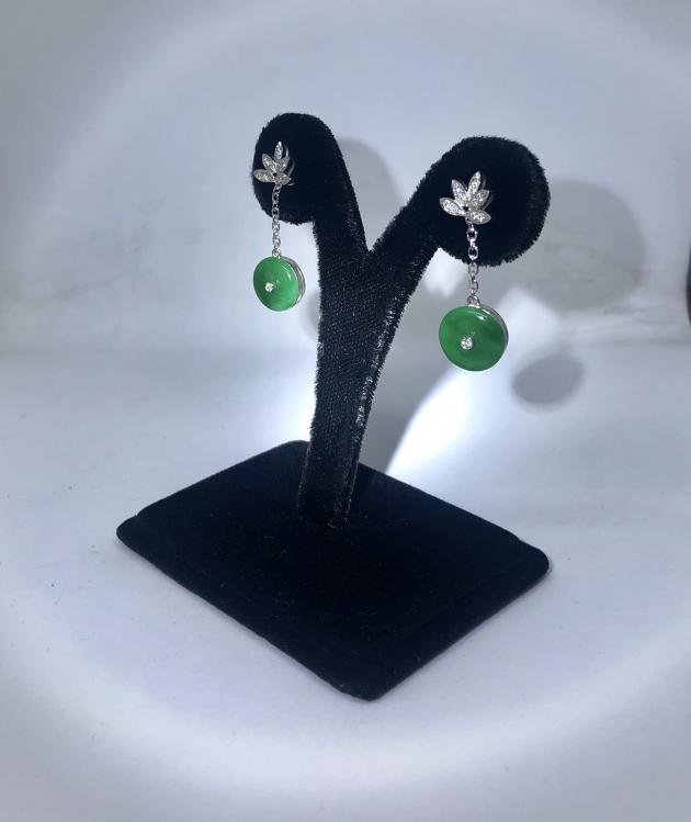 翡翠耳環 1