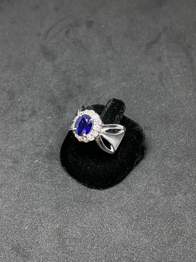 藍寶K金戒指 2