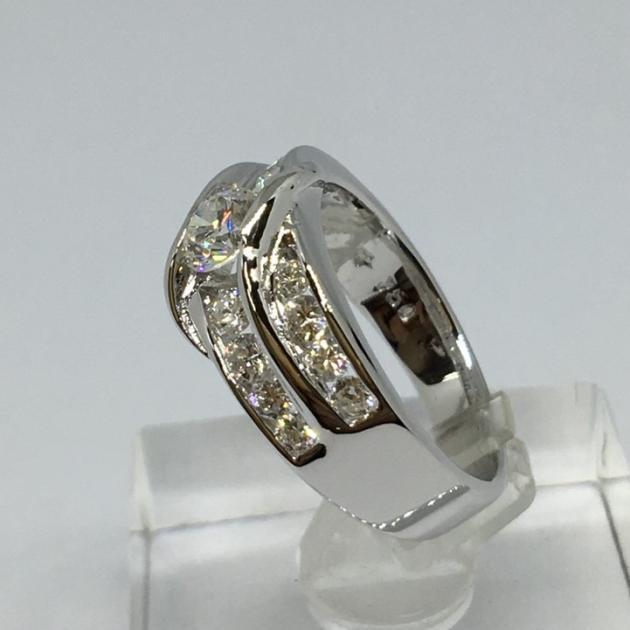 35分 天然鑽石戒指 (已售出) 3