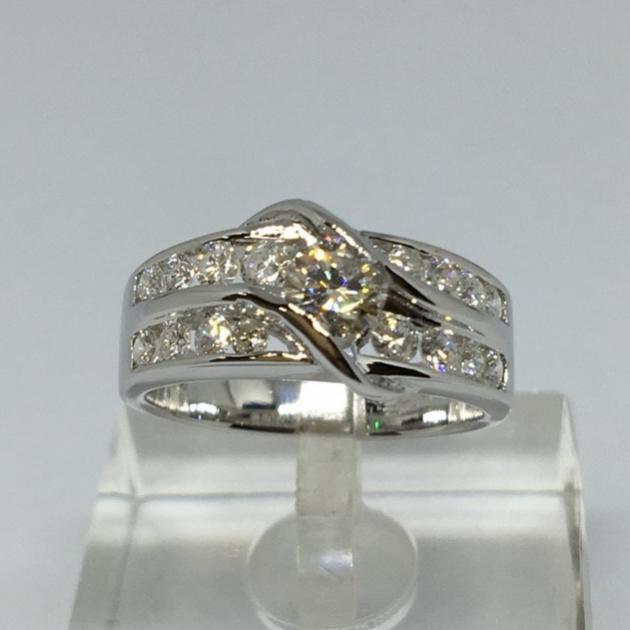 35分 天然鑽石戒指 (已售出) 1