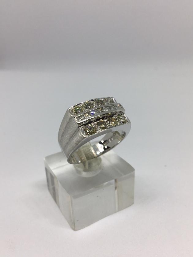 15分*8顆 天然鑽石戒指 2