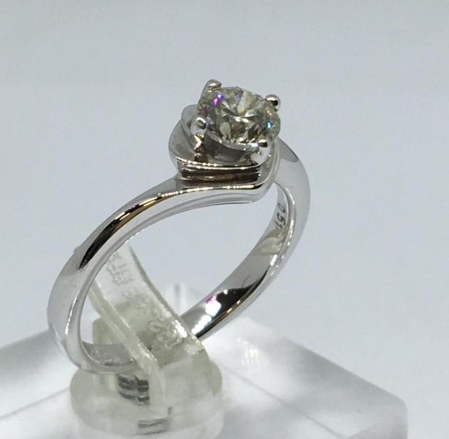 天然鑽石戒指 51分 1