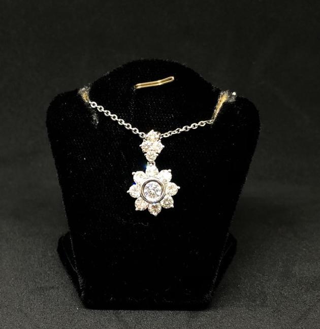 天然鑽石墜飾 2