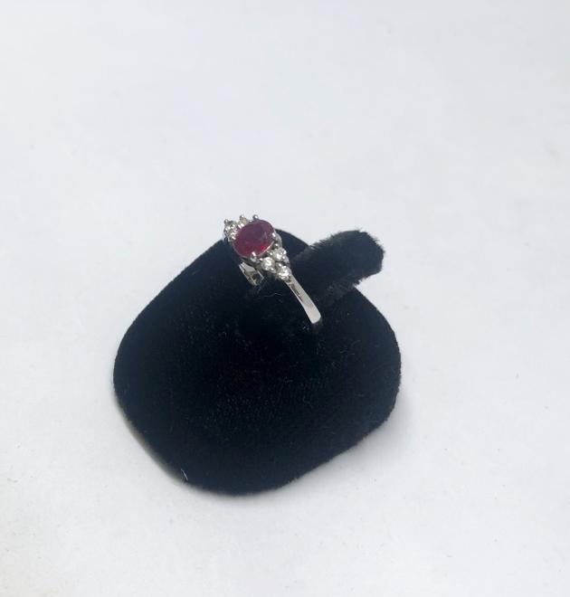 紅寶K金戒指 2